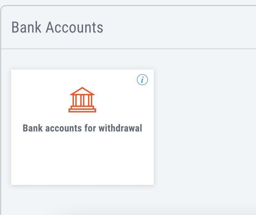 как добавить банковский счет в Payoneer